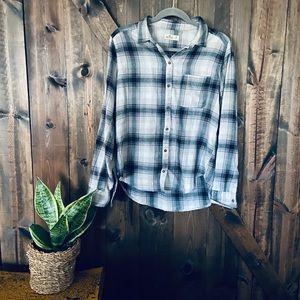 Hollister Flannel Button-up
